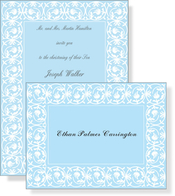 Product Image For Blue Debut Invitation