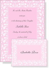 Product Image For Pink Debut Invitation