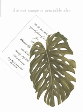 Product Image For Palm Frond Die-Cut