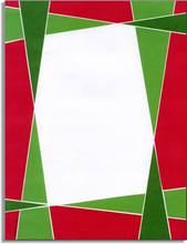 Product Image For Mosaic Christmas Paper