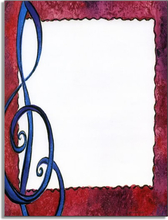 Product Image For Treble Clef Paper
