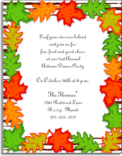 Product Image For Fall Leaves Paper