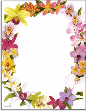 Product Image For Exotic Orchids Paper