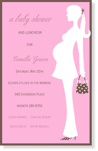 Product Image For Pink Bliss Shower Invitation