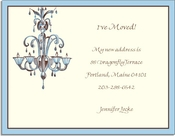 Product Image For Chandelier on White Cardstock