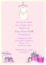 Product Image For Tank Top Mom Invitation on White Cardstock