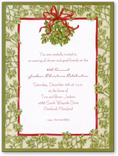 Product Image For Mistletoe Embossed