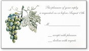 Product Image For Frost Grapes Reply Card