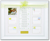 Product Image For Baby Milestones Keepsake Frame