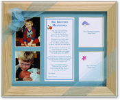 Product Image For Big Brother Milestones Frame