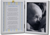 Product Image For Sweet Baby Boy Picture Frame