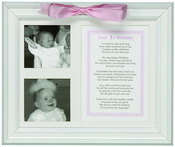 Product Image For First Birthday Picture Frame