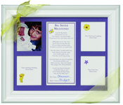 Product Image For Big Sister Milestones Frame