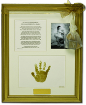 Product Image For Handprint & Smile Keepsake Frame