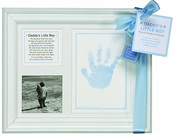 Product Image For Daddy's Little Boy Handprint Frame