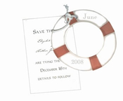 Product Image For Life Preserver Die-Cut - ECRU ONLY 25 AVAILABLE