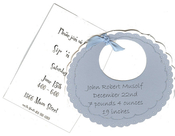 Product Image For Blue Bib Die-Cut