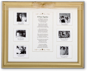 Product Image For 50 Years Anniversary Frame