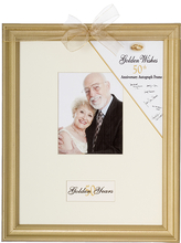 Product Image For Golden Wishes 50th Anniversary Frame