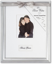 Product Image For Silver Wishes 25th Anniversary Frame