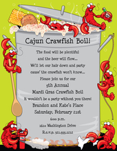 Product Image For Crawfish Boil Paper
