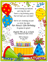 Product Image For Birthday Bash Paper