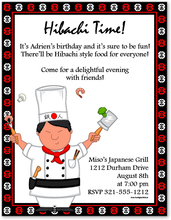 Product Image For Hibachi Man Paper