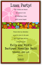 Product Image For Colorful Hibiscus Digital Invitation
