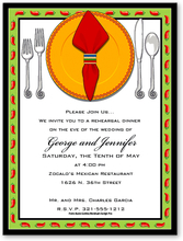 Product Image For Fiesta Place Setting Digital Invitation