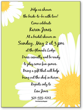 Product Image For Pretty Daisies Digital Invitation