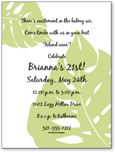 Product Image For Philodendron Digital Invitation
