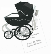 Product Image For Baby Carriage Die-Cut