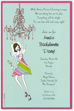 Product Image For Chandelier Bride Invitation