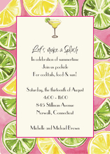 Product Image For Lemon and Lime on White Cardstock
