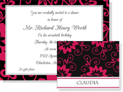 Product Image For Moulin Rouge Invitation