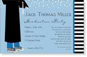 Product Image For Grad Boy Digital Invitation