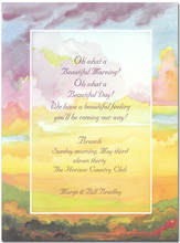 Product Image For Sunrise/Sunset Invitation