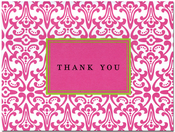 Product Image For Frill Pink Notecard