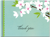 Product Image For Cherry Blossoms Notecard