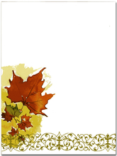 Product Image For Cascading Leaves Paper