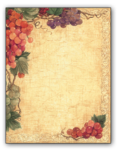 Product Image For Harvest Grapes Paper