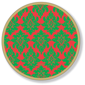Product Image For Tapestry Holiday Dessert Plate