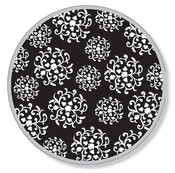 Product Image For Hanging Ortnaments Black Dinner Plate