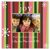Product Image For Mixed Vertical Stripes Photo Card