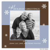 Product Image For Holiday Greetings Square Photo Card