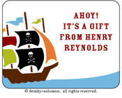 Product Image For Ahoy Mateys Gift Sticker