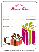 Product Image For Thats a Wrap personalized Gift Sticker