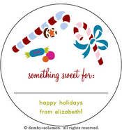 Product Image For Something Sweet personalized Gift Sticker