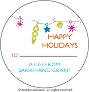 Product Image For Garland personalized Gift Sticker