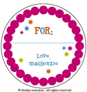 Product Image For Soiree Personalized Gift Sticker